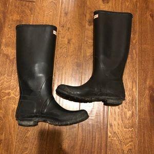 Tall Black Hunter Boots size 11